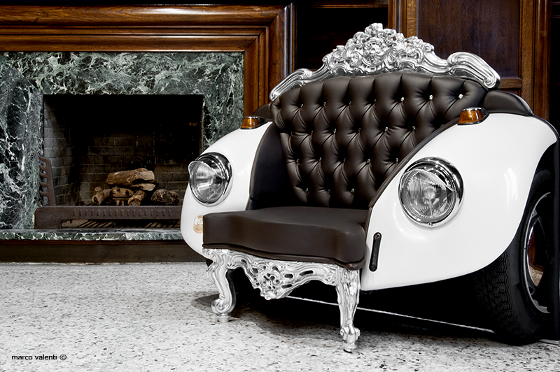 Luxury furniture zac glamour beetle armchair